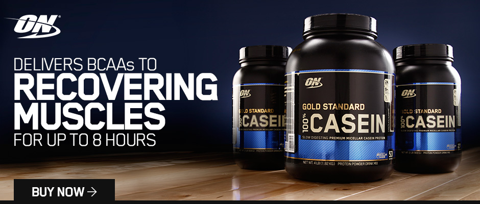Gold Standard Casein Optimum Nutrition Banner Swole Spartan The Supplement Store